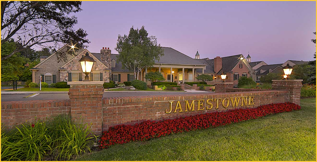 Jamestowne executive office space for lease in Biungham Farms, MI