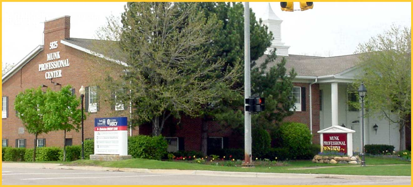 office space for lease in Munk Professional Center in Clarkston, MI